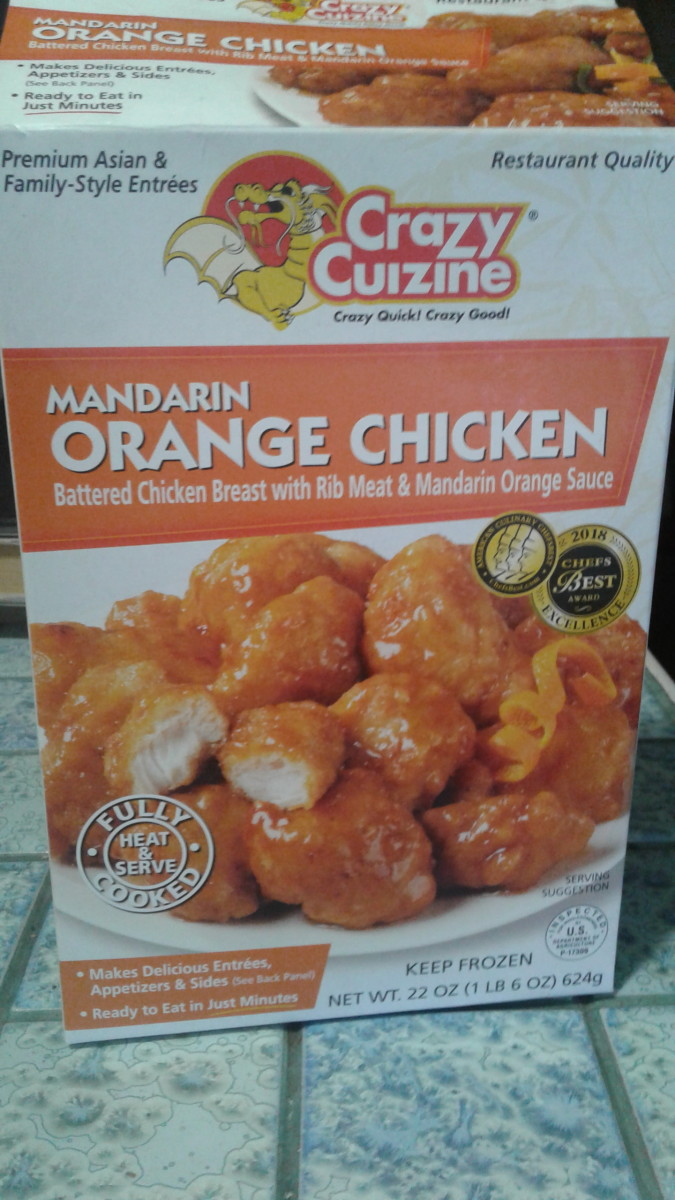 Review of Orange Chicken by Crazy Cuizine