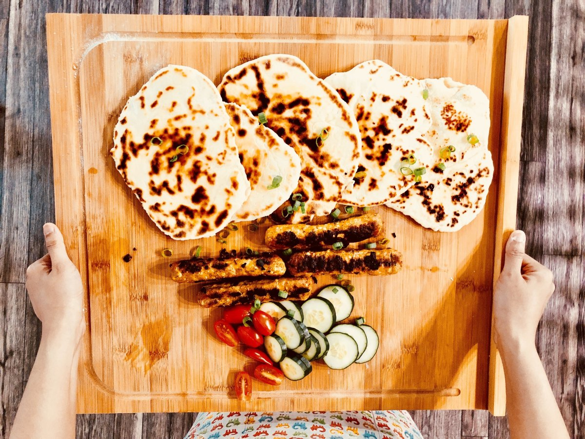 Basic Recipe for Indian Naan Bread