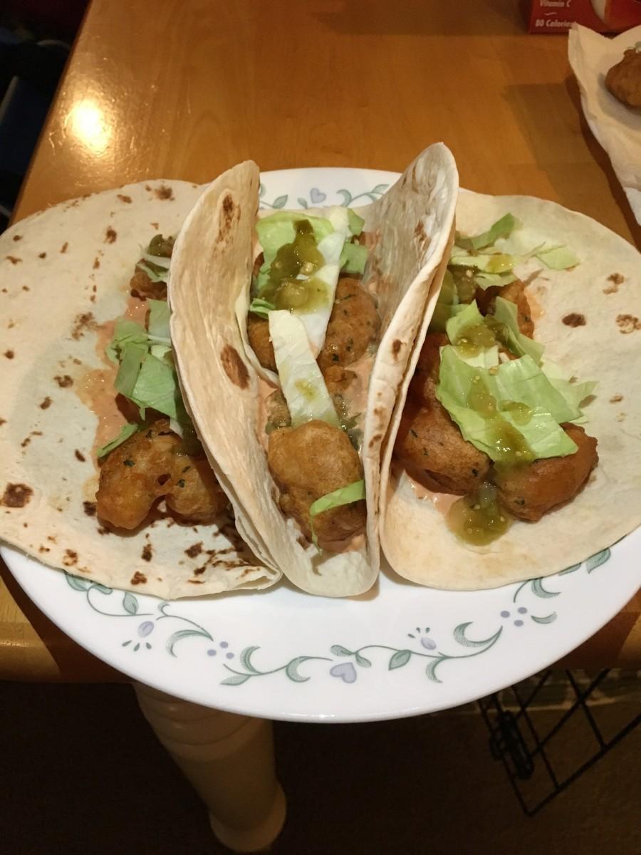 A Taste of Disney: Tacos de Camarones