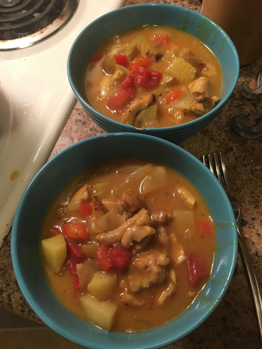 A Taste of Disney: Coconut Curried Chicken Stew