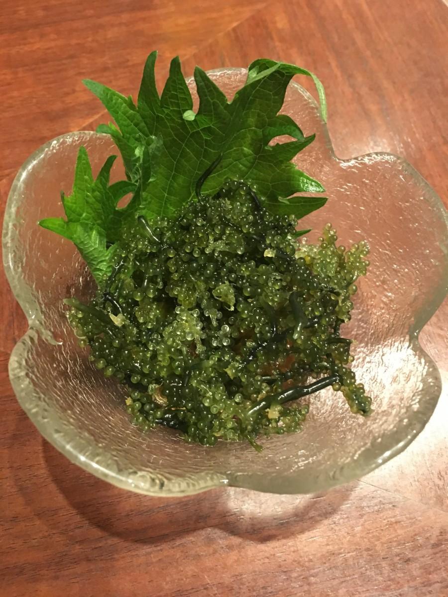 Umi budo seaweed