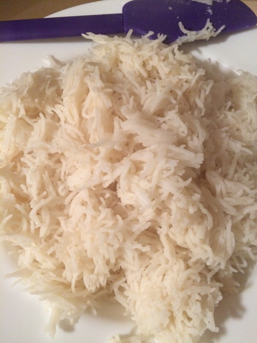Rice is done!