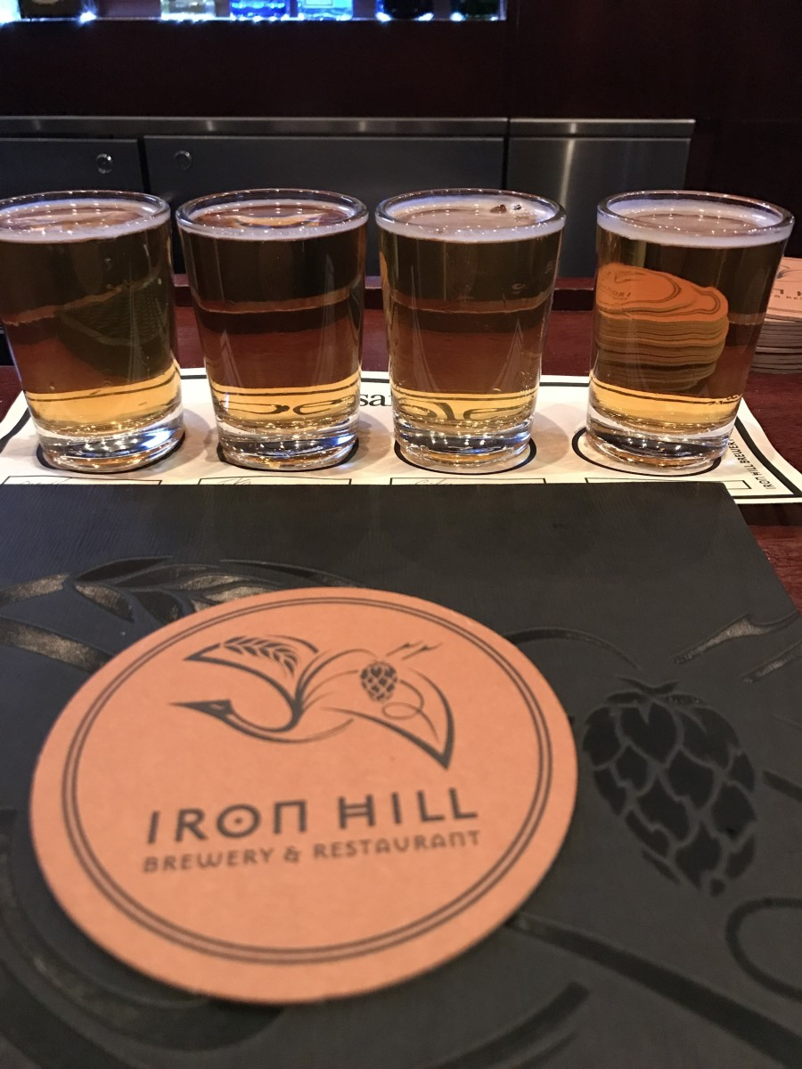 Reflections on Americana: Eating and Drinking at Iron Hill Brewery