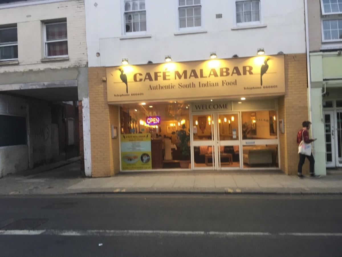 Cafe Malabar, 41 Magdalen Street, Norwich