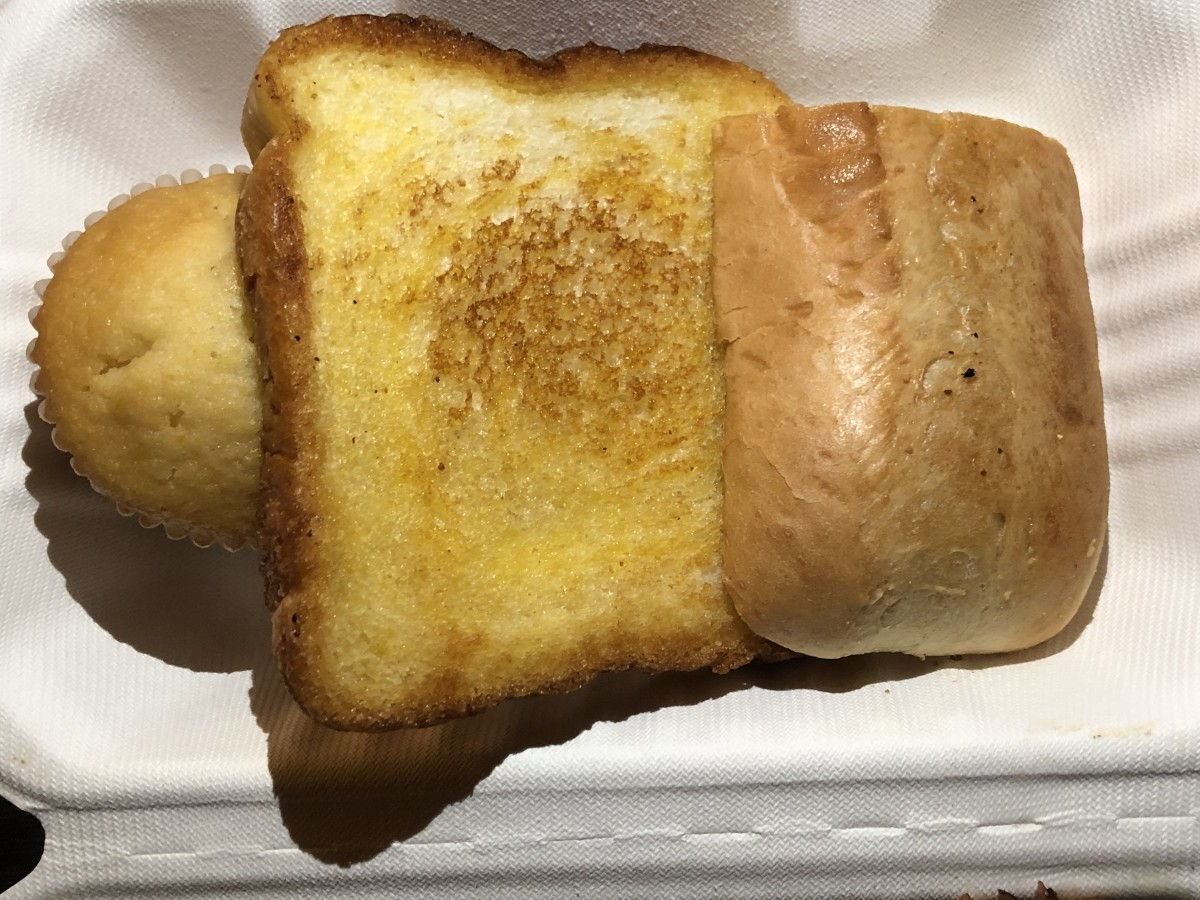 Bread at Dickey's BBQ Pit