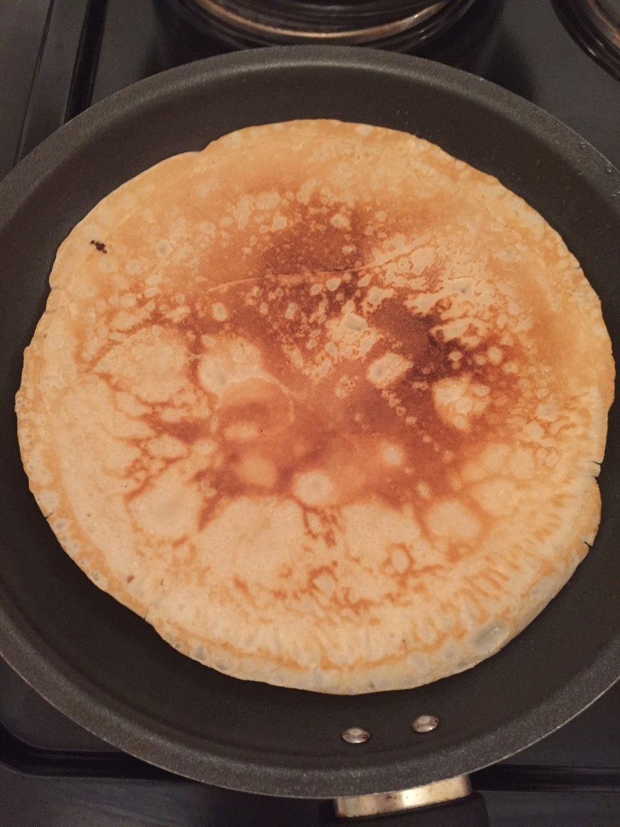 This stew is often eaten with pancakes in Yorkshire.