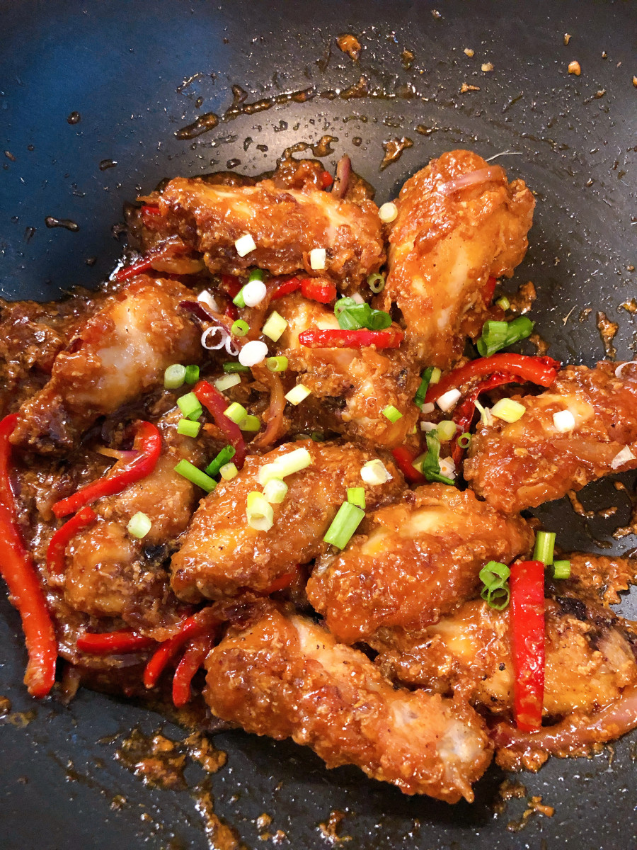 Asian-Style Sweet and Sour Chicken