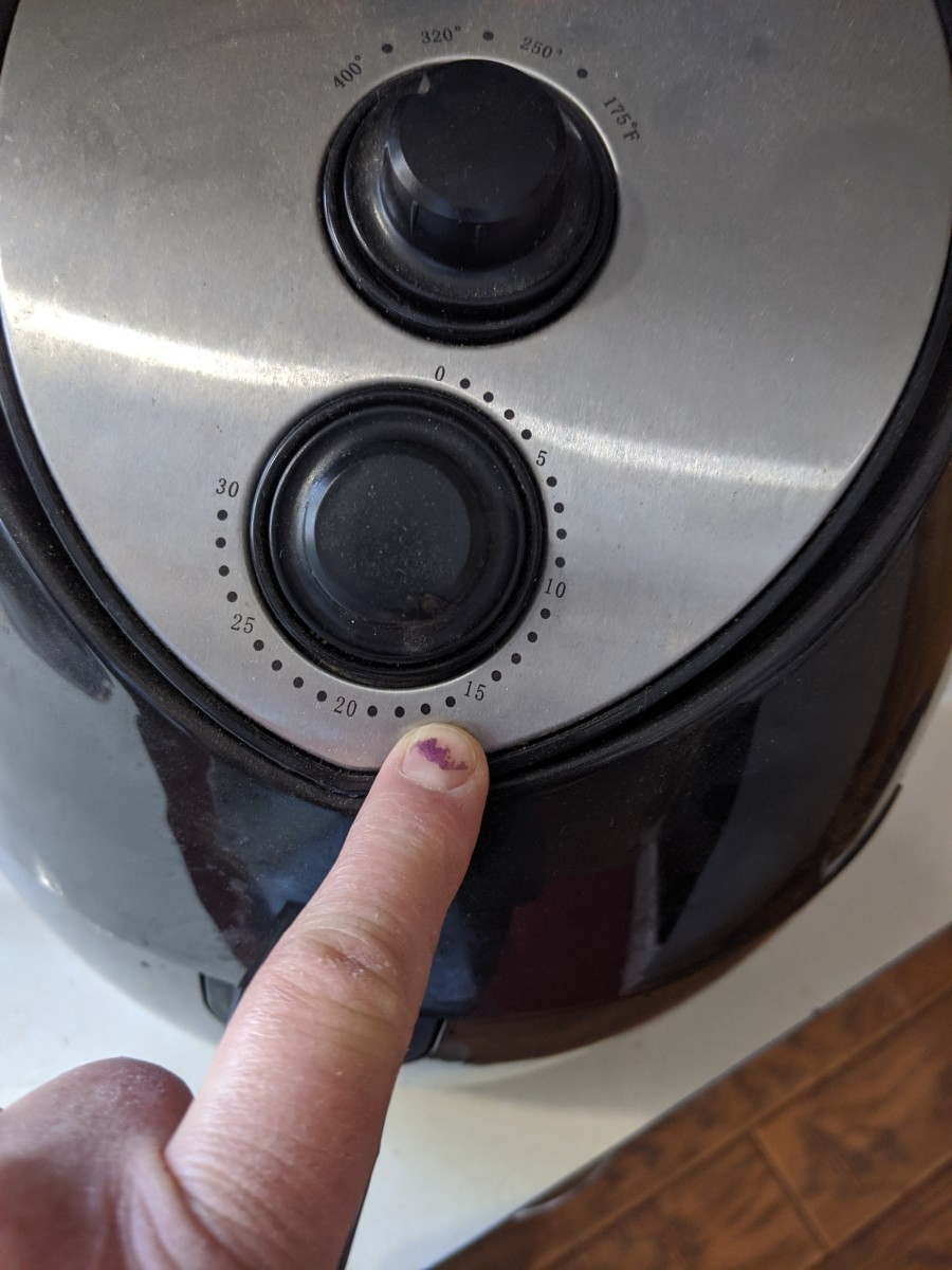 After the initial cooking, increase the temperature to 400 degrees and cook for 15 minutes.