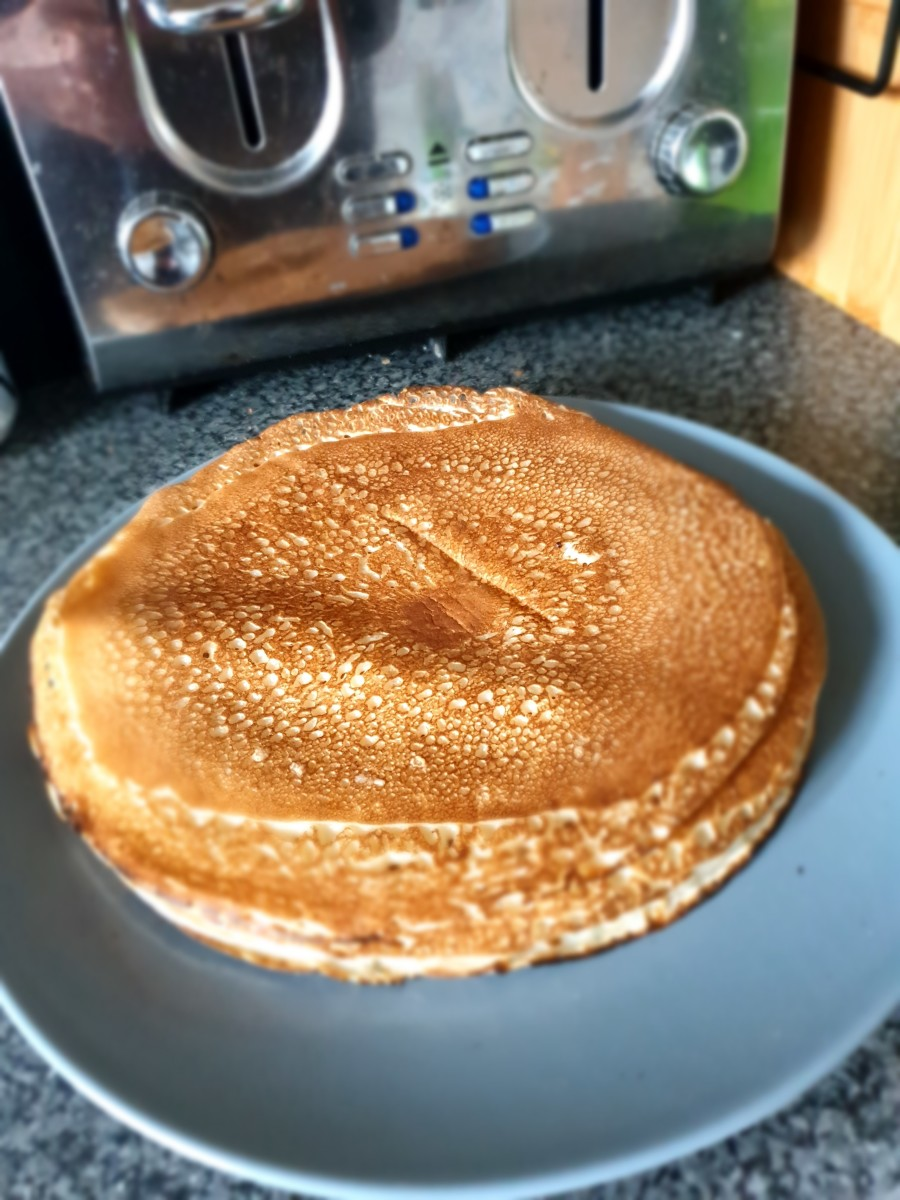 Nothing beats a stack of Gluten Free pancakes for breakfast