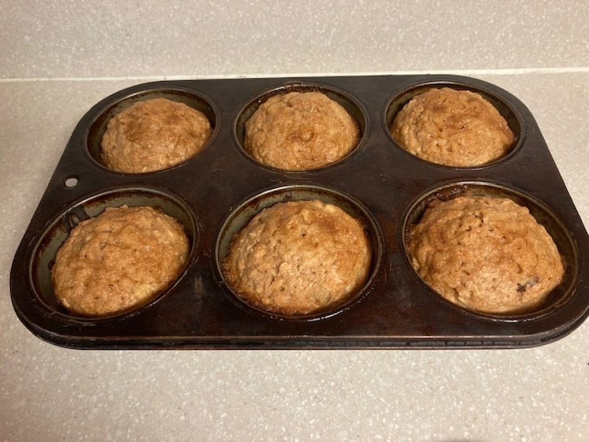 Bake until golden brown, about 15 to 20 minutes.