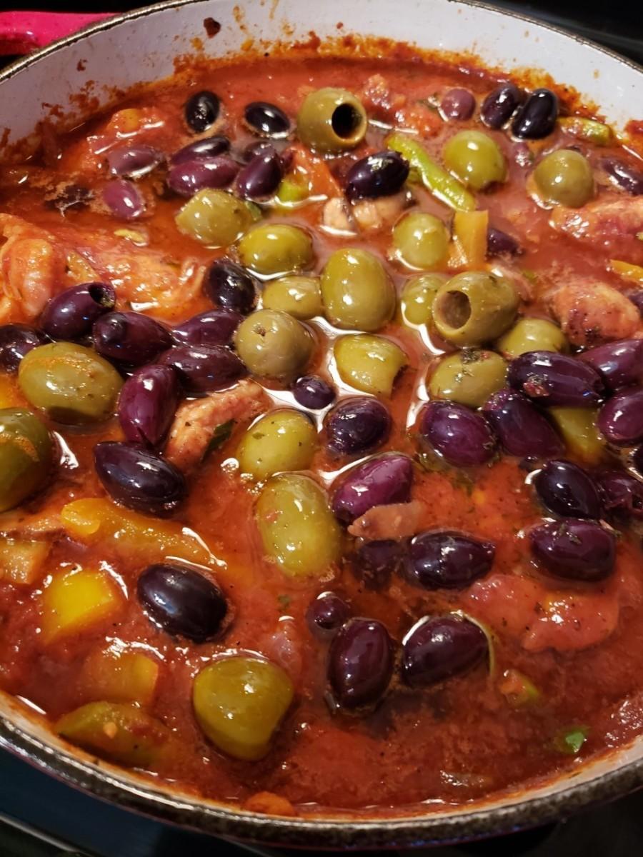 Old World Chicken Cacciatore Recipe