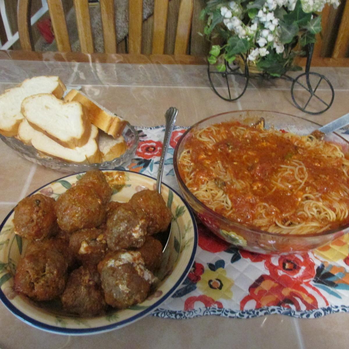 A good Italian meal