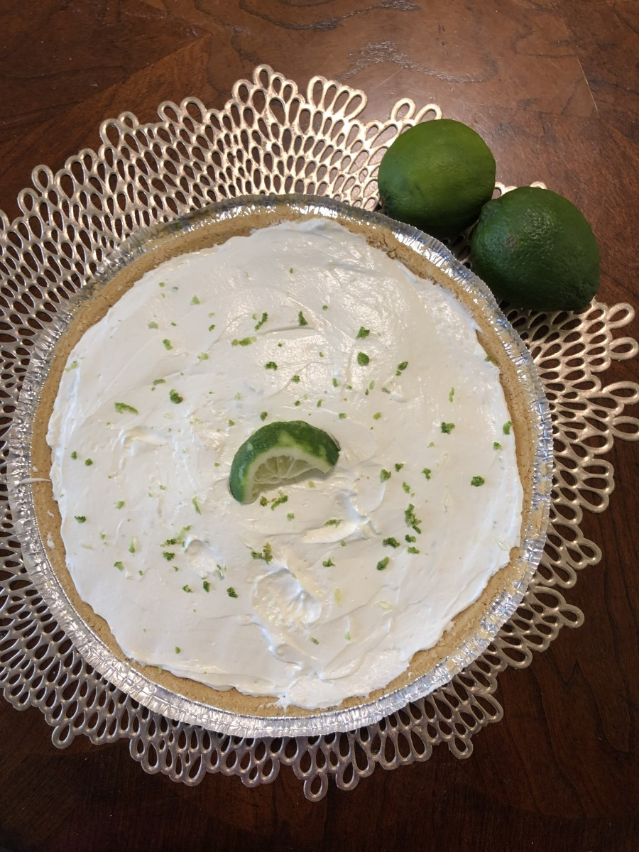 Easy no-bake key lime cheesecake