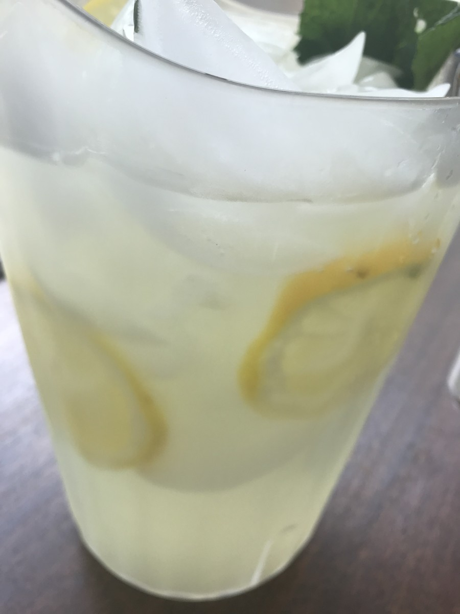 The Best Fresh, Homemade Lemonade Ever: Seriously addictive and perfect for hot summer days, this homemade lemonade is about the best thing you've ever had!