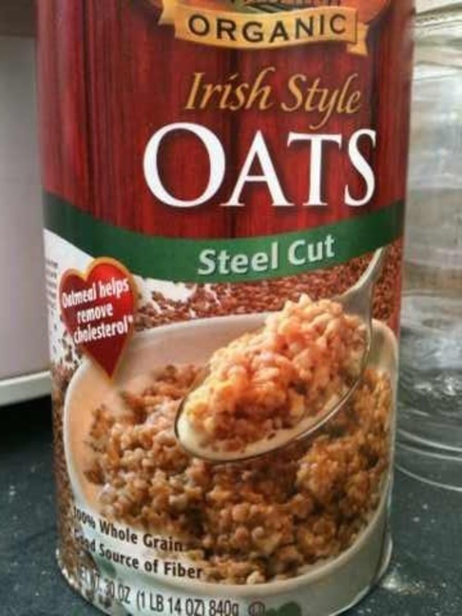 My favorite brand of steel cut oats.