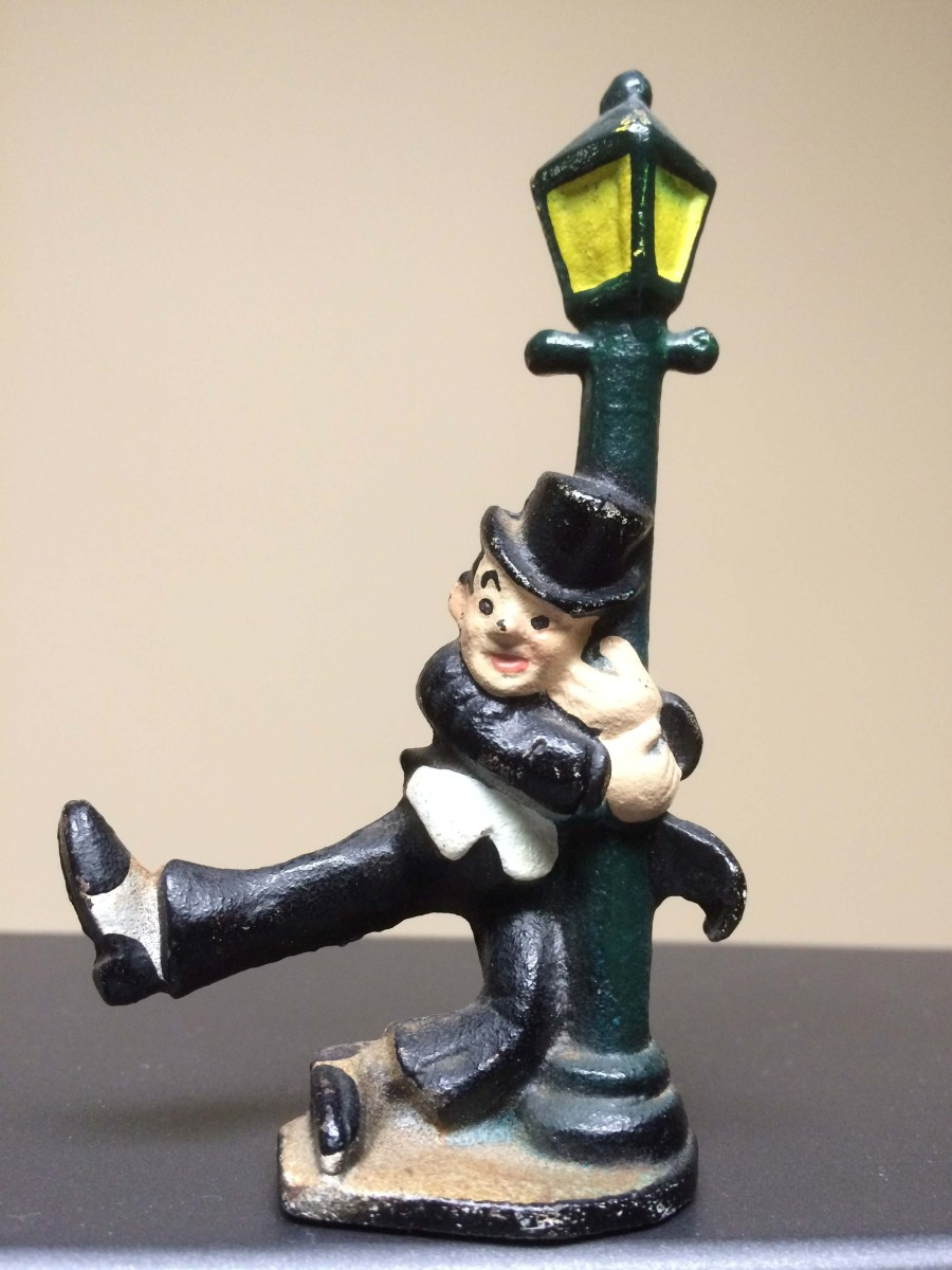 Cast Iron Figurine Bottle Opener