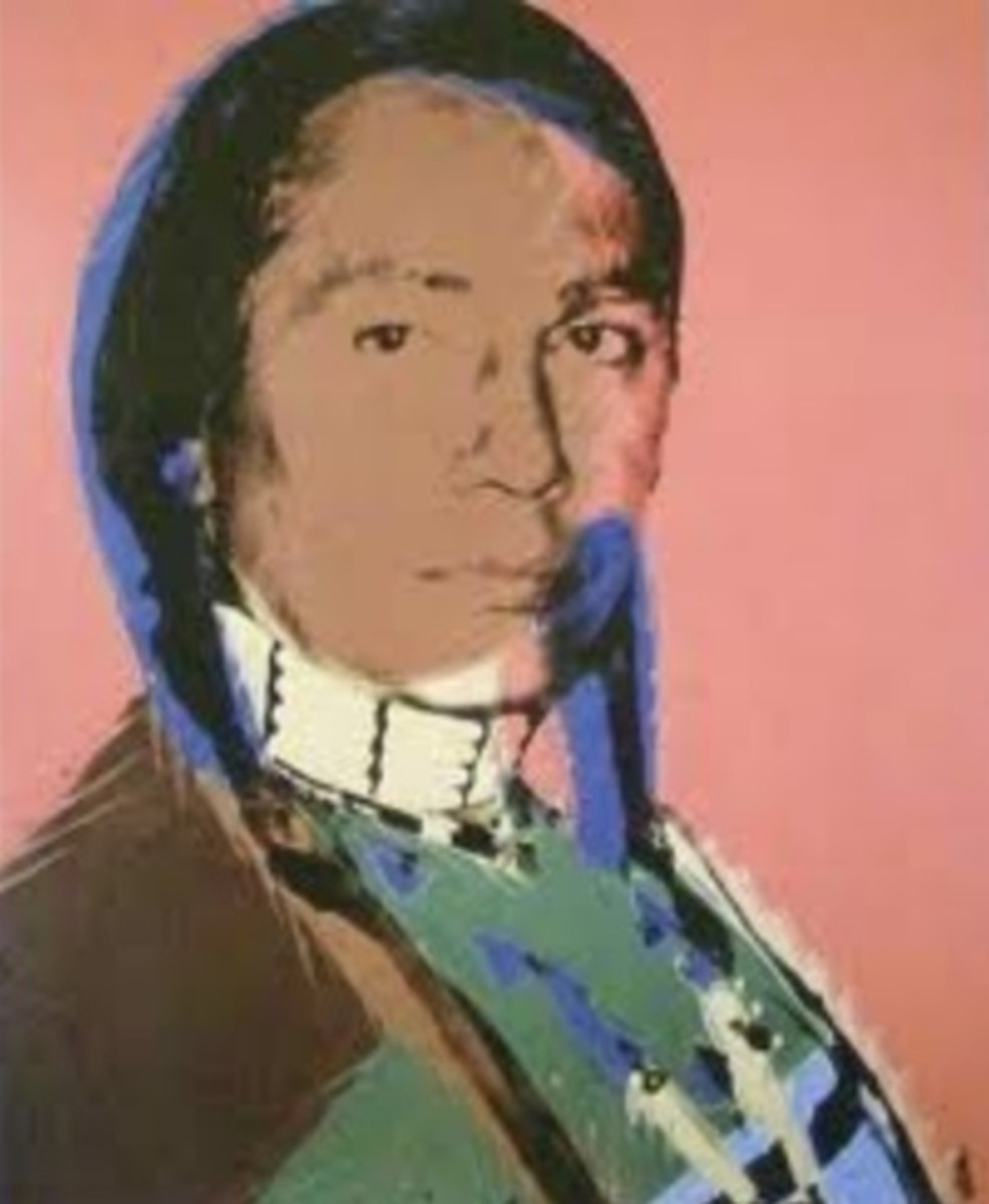 Andy Warhol's Portrait of Russell Means