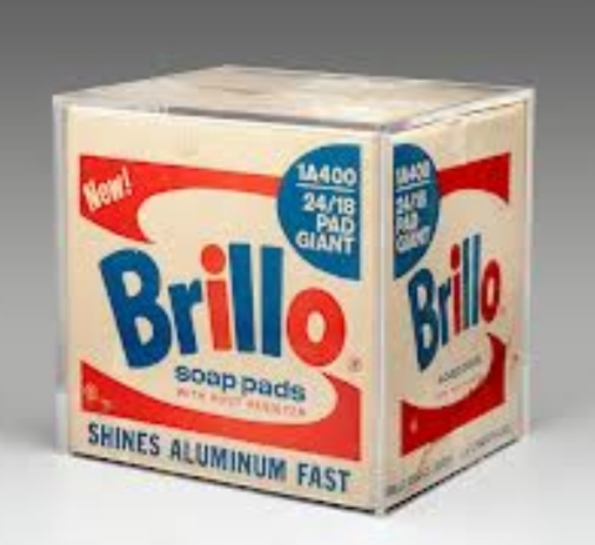 """Brillo Box"" by Andy Warhol, Circa 1964"