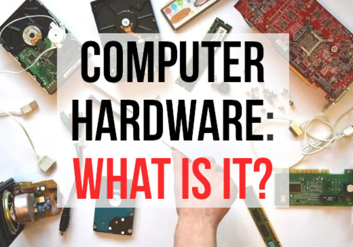 Read on if you wish to know what computer hardware is, and see some examples...