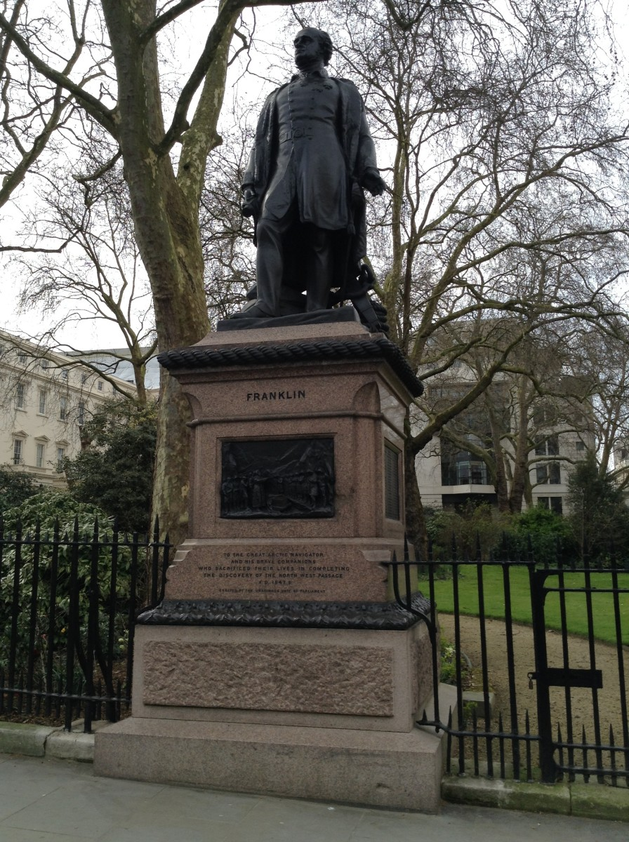 Statue of Sir John Franklin, Waterloo Place, London