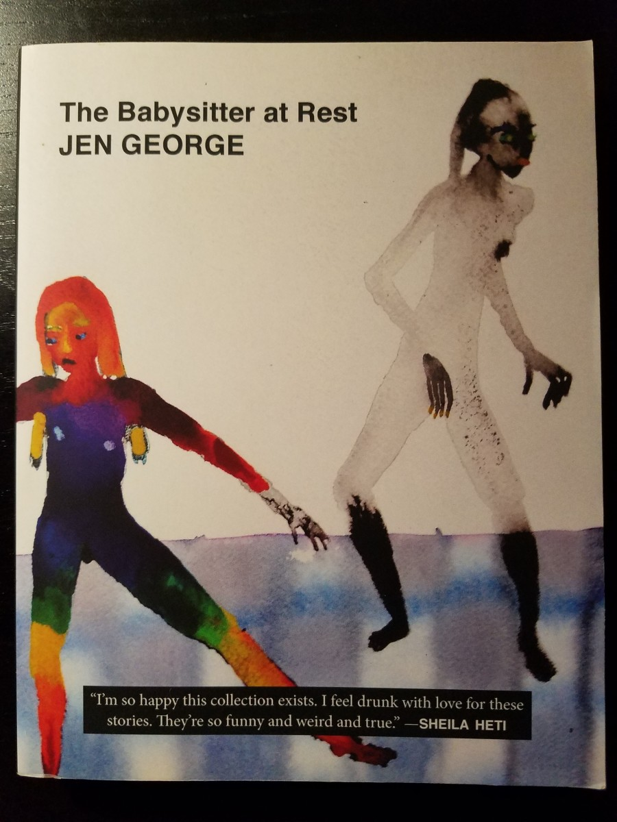 Jen George's characters are always navigating convoluted obstacle courses, both externally and internally, all the while still trying to figure out who they are and what they want to do with their lives.