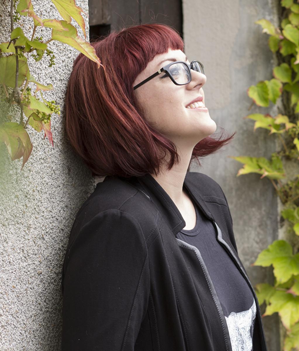 Victoria Schwab, the book's author