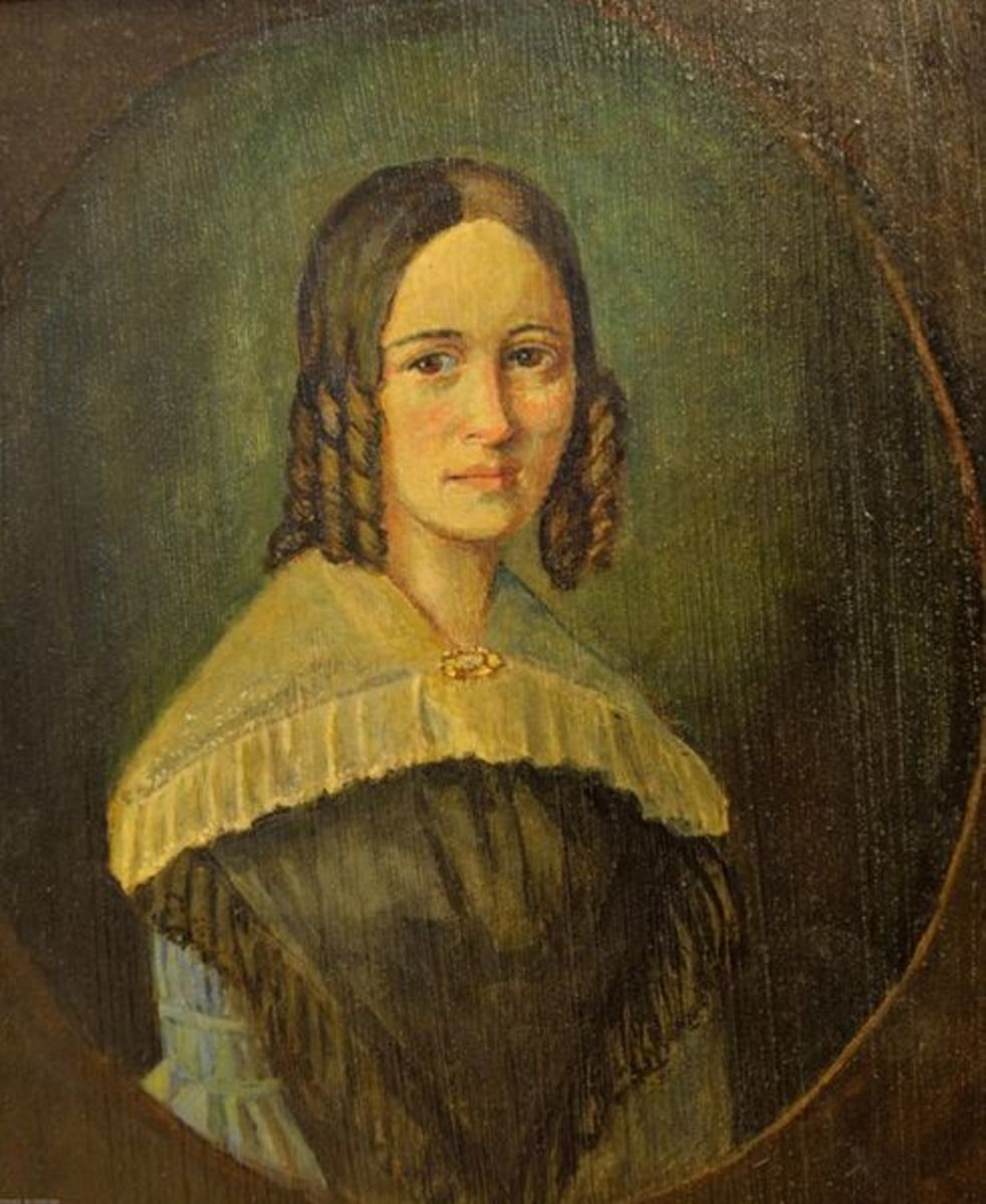 Marie Hassenpflug Circa 1812: Credited  With Orating Twenty Grimm Fairy Tales