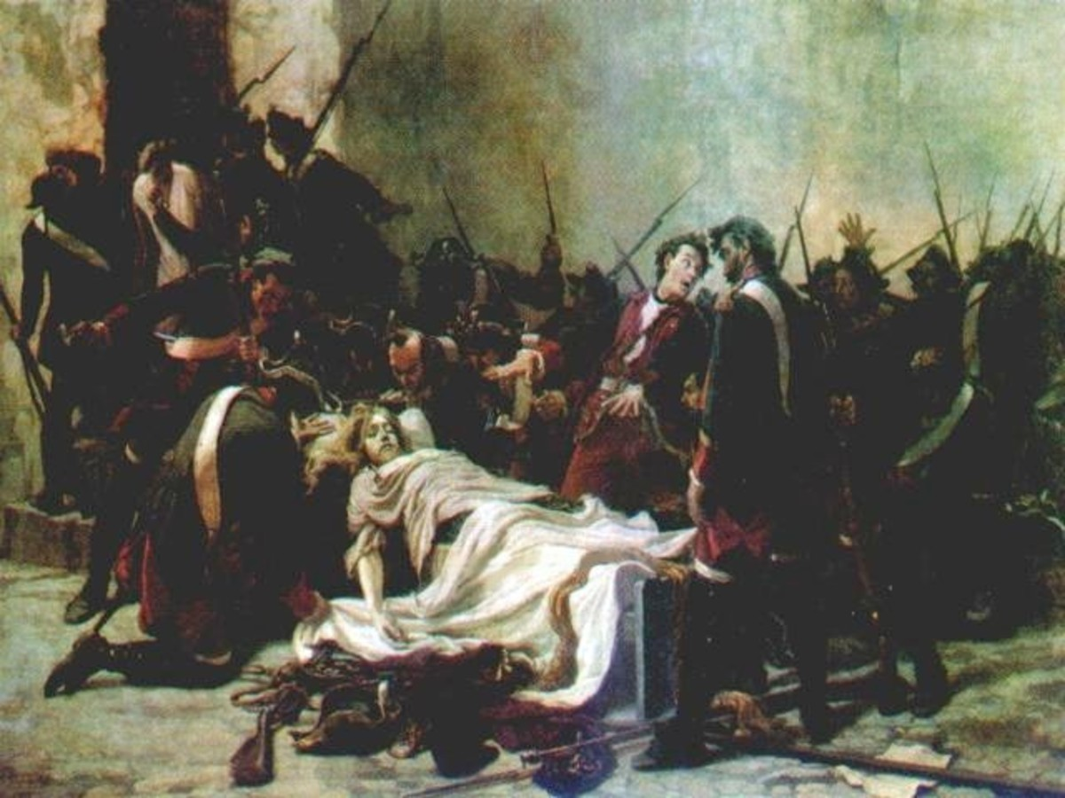 The corpse of Ivan VI.