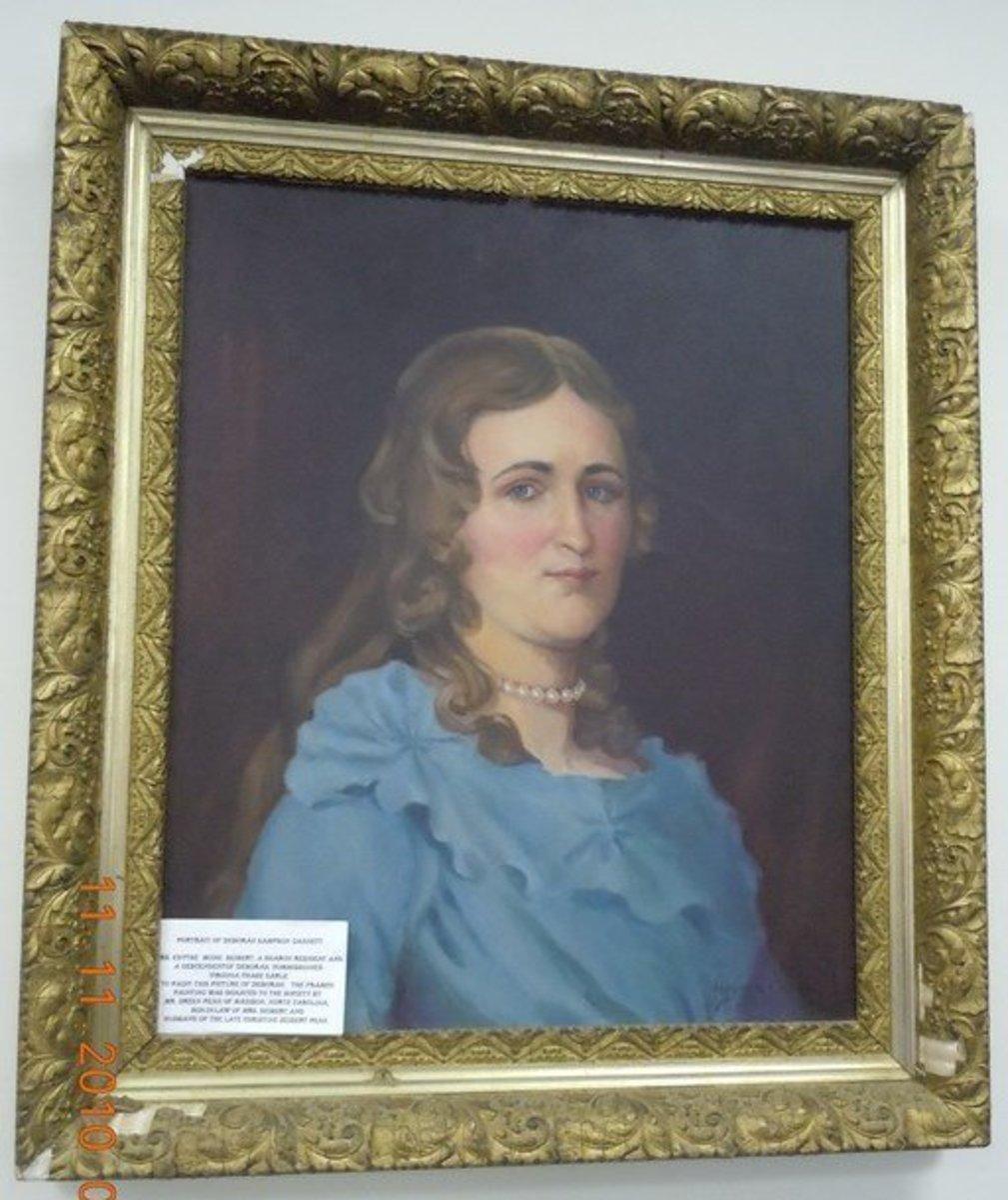 Painting of Deborah Sampson