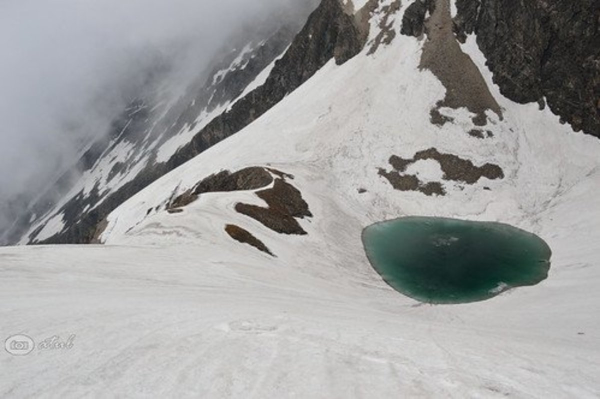 Researchers have to go on a four-day trek to reach Roopkund Lake.