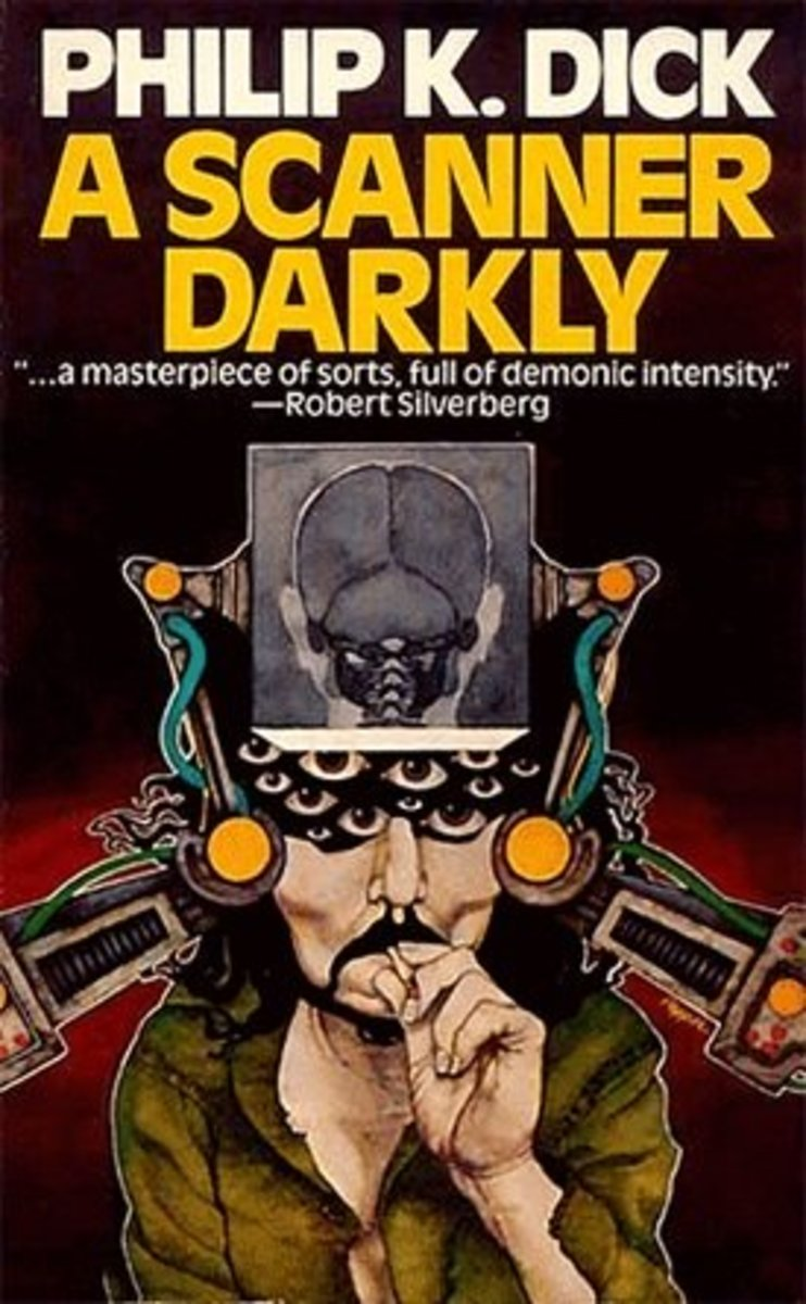 "Cover Art for the Novel ""A Scanner Darkly"""