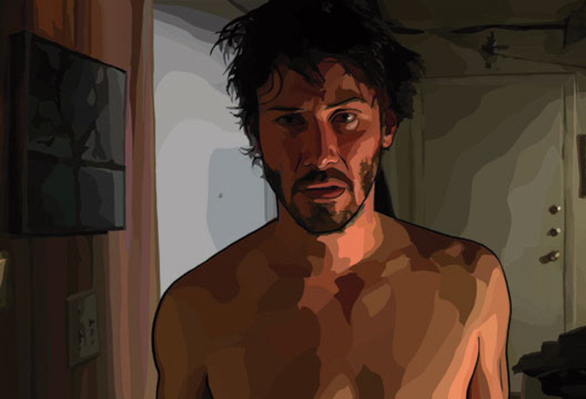 "Screen Capture From the Film ""A Scanner Darkly"""