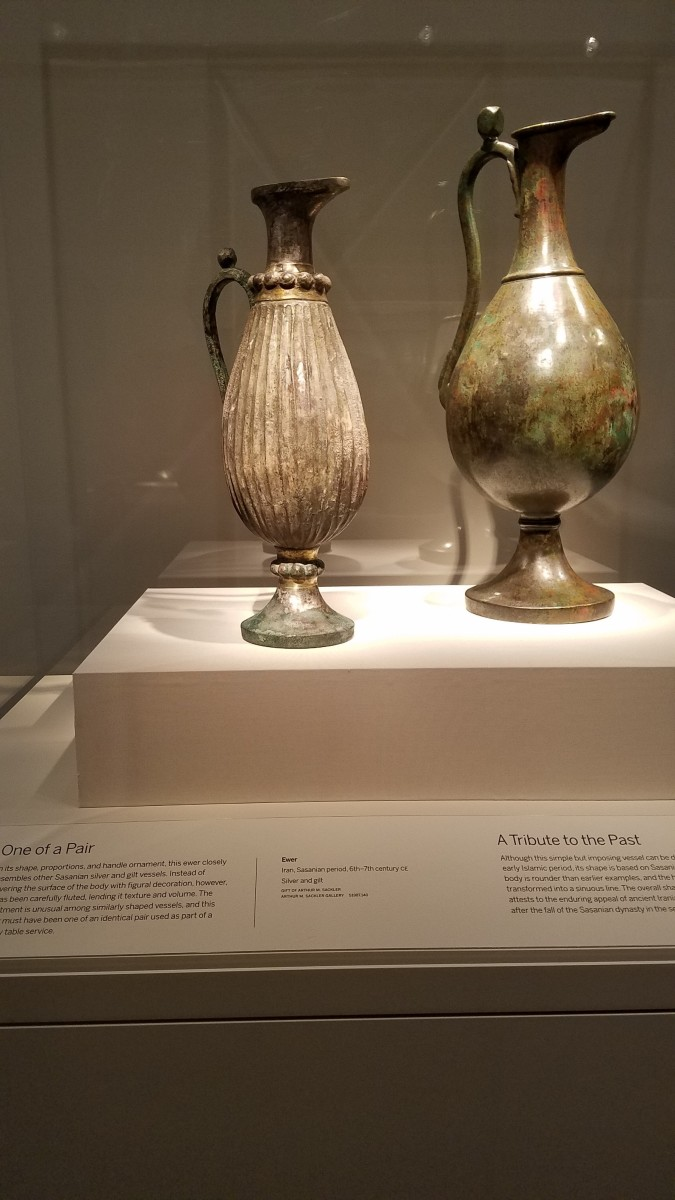 Vessels of the Early Islamic Period 6th-7th century CE.