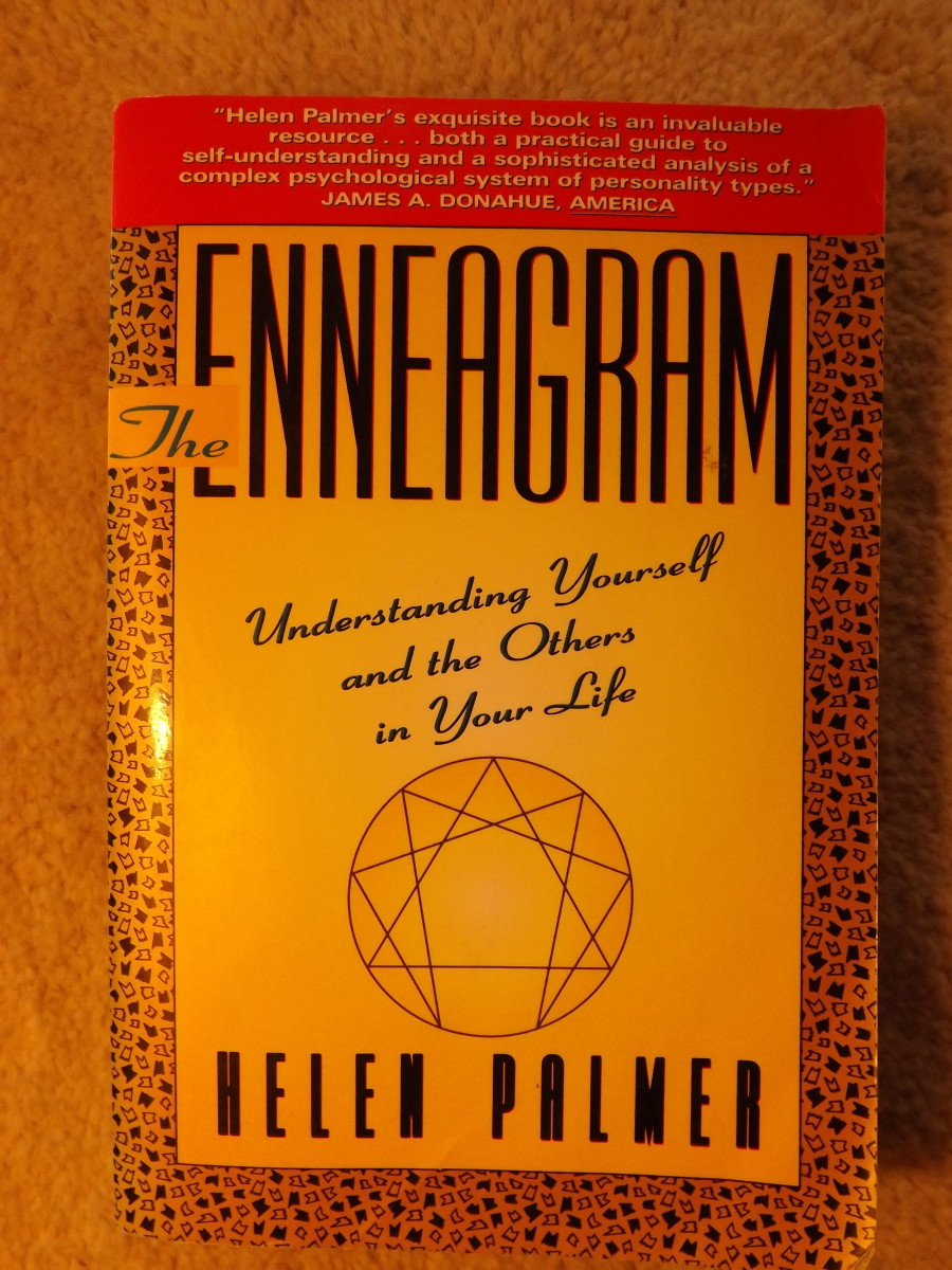 My copy of Helen Palmer's 1st enneagram book