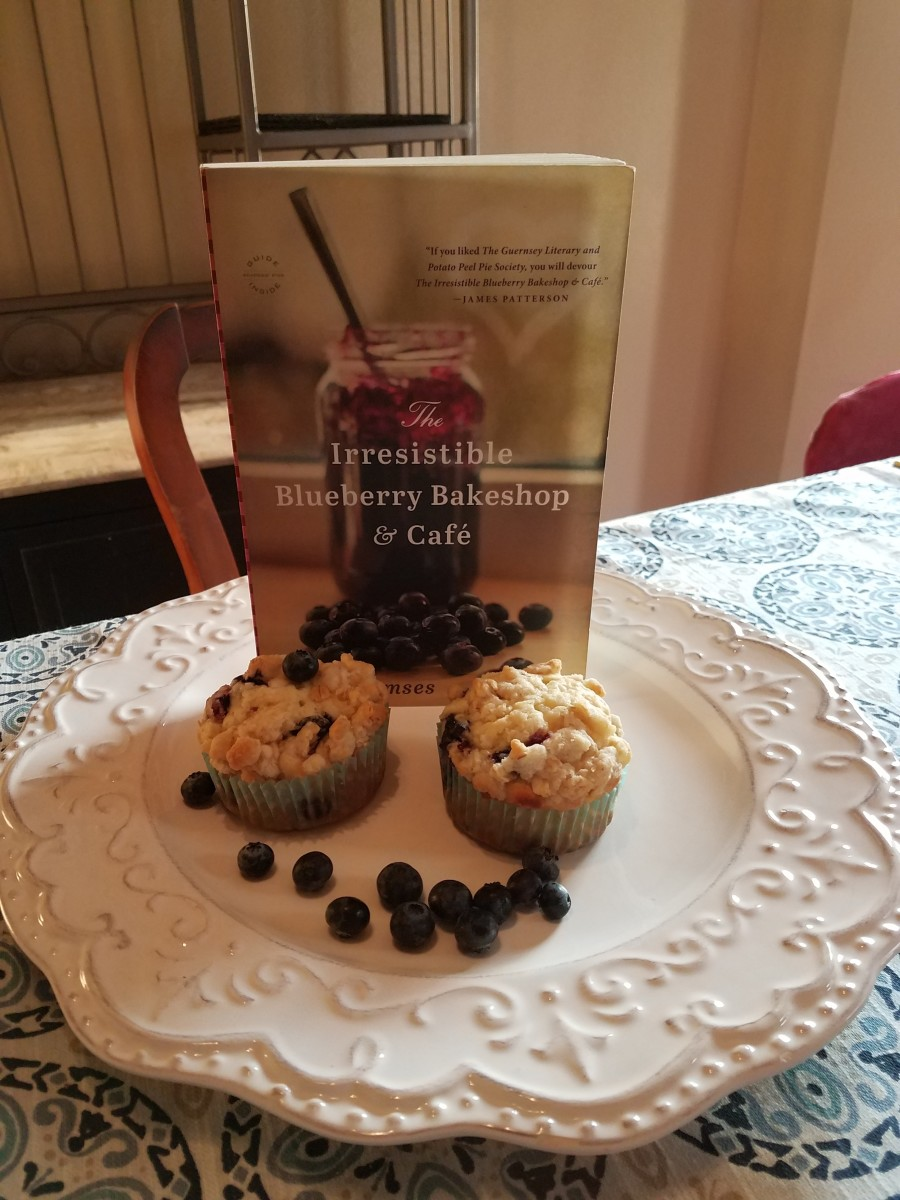 The Irresistible Blueberry Bakeshop and Cafe Book Discussion and Recipe