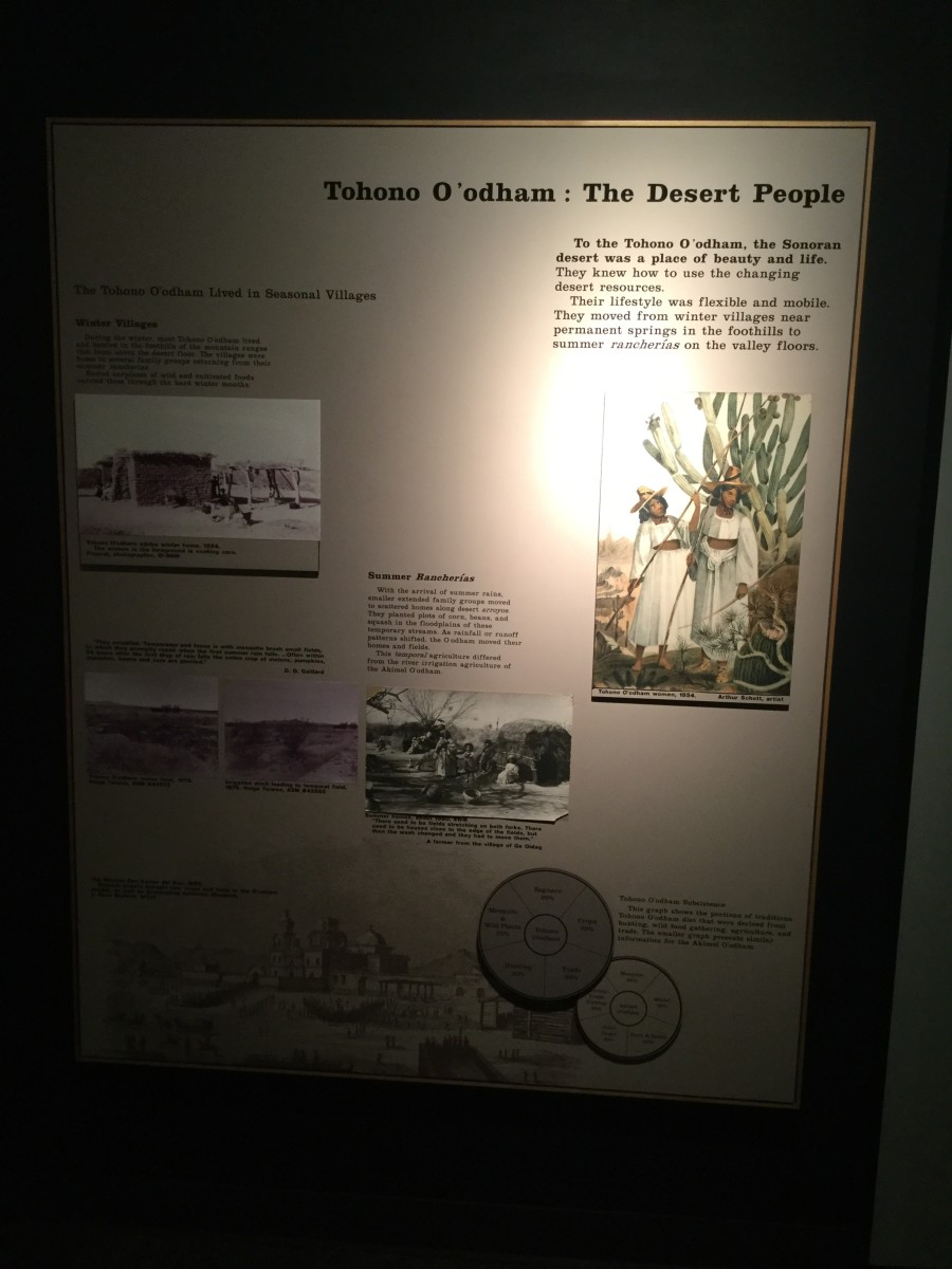 Sorry for the poor quality pictures--the lighting in the museum was dim.