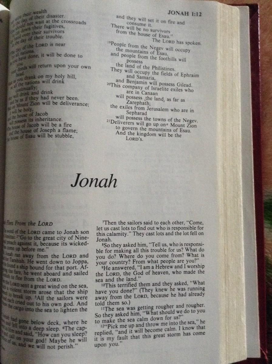 Jonah and Joseph