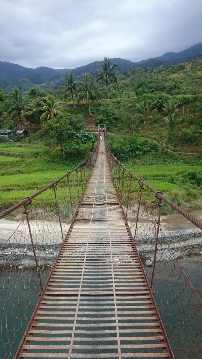 Adams, Ilocos Norte Past this hanging bridge lies a mountain with plenty of cicadas!