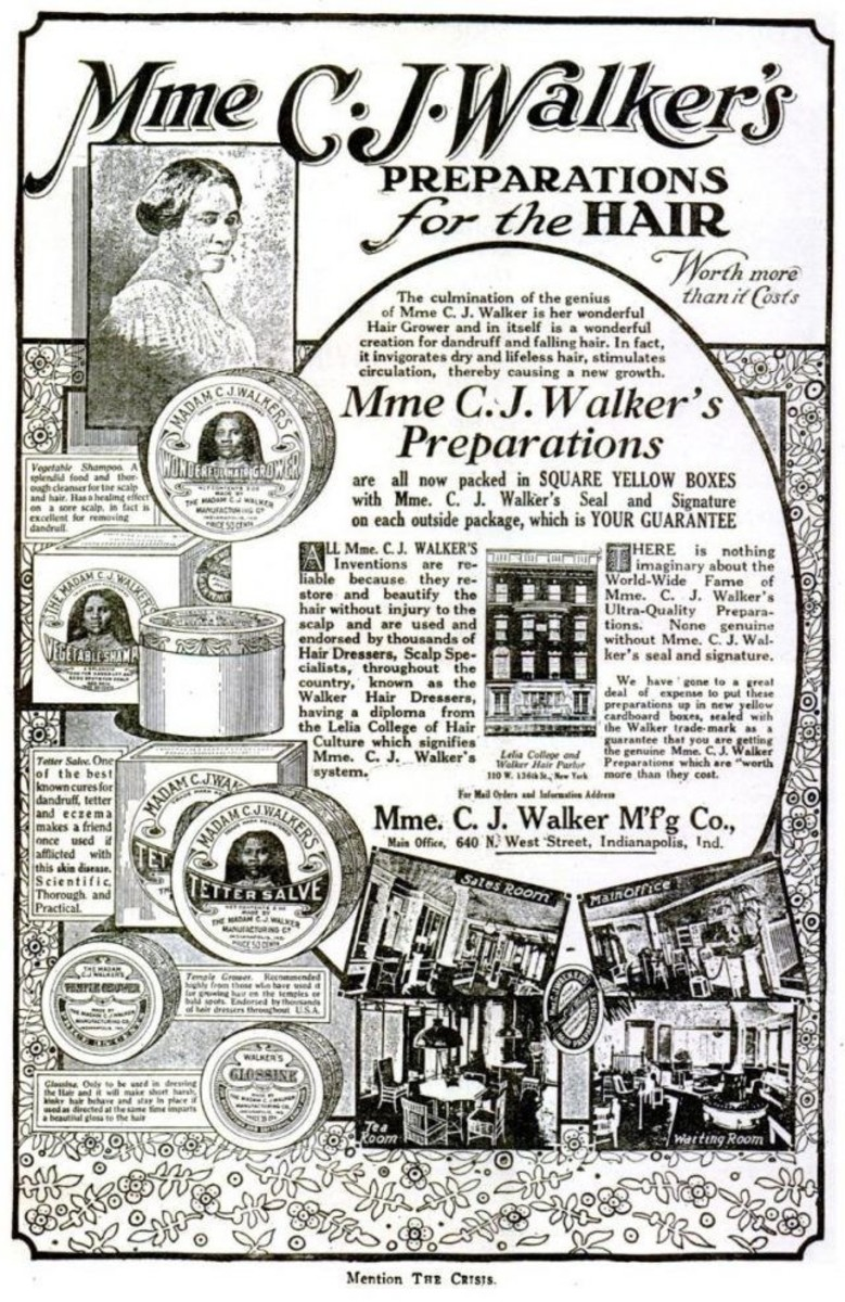 Madam C. J. Walker Advertisement