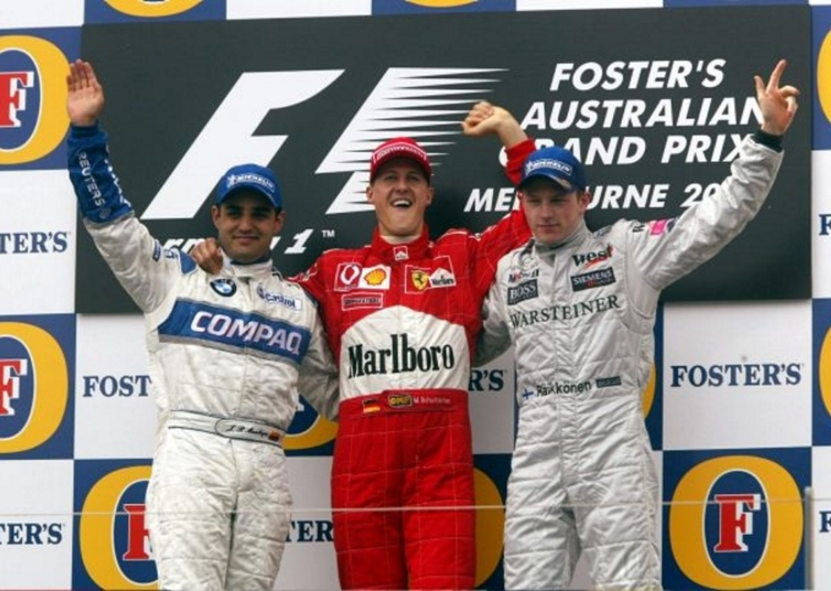 The 2002 Australian GP: Michael Schumacher's 54th Career Win