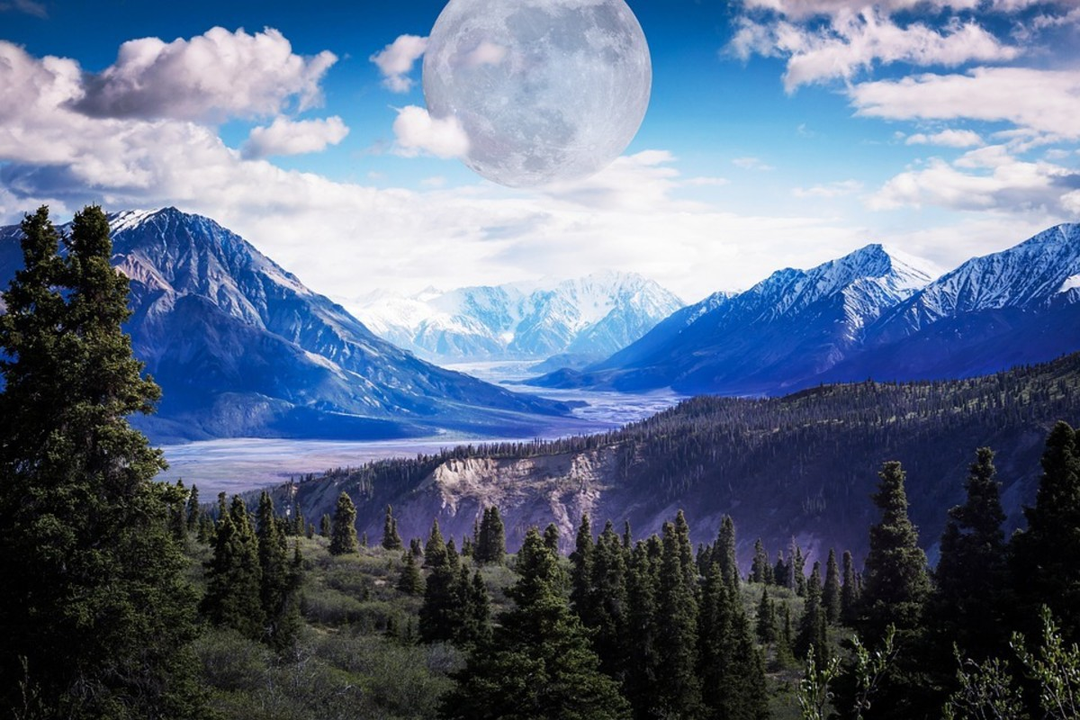 A Place Under The Moon: A Poem