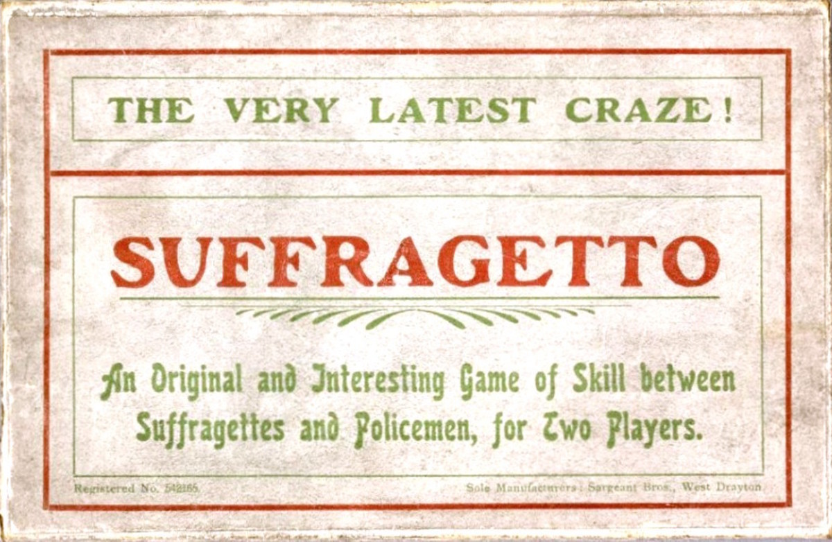 How Board Games Militarized Young Suffragettes