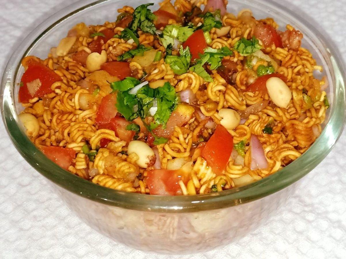 Wai Wai Noodles Bhel