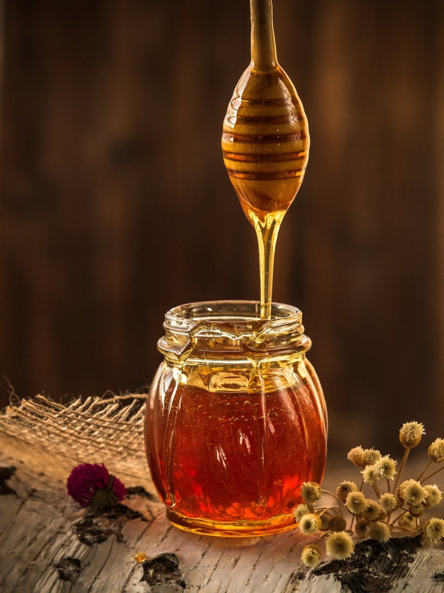 Buy local honey over highly processed and potentially counterfeit honey.