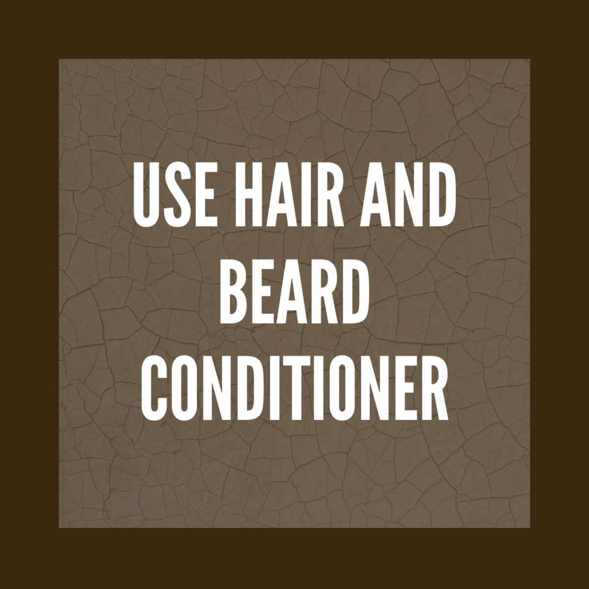Conditioner will fix dry hair.
