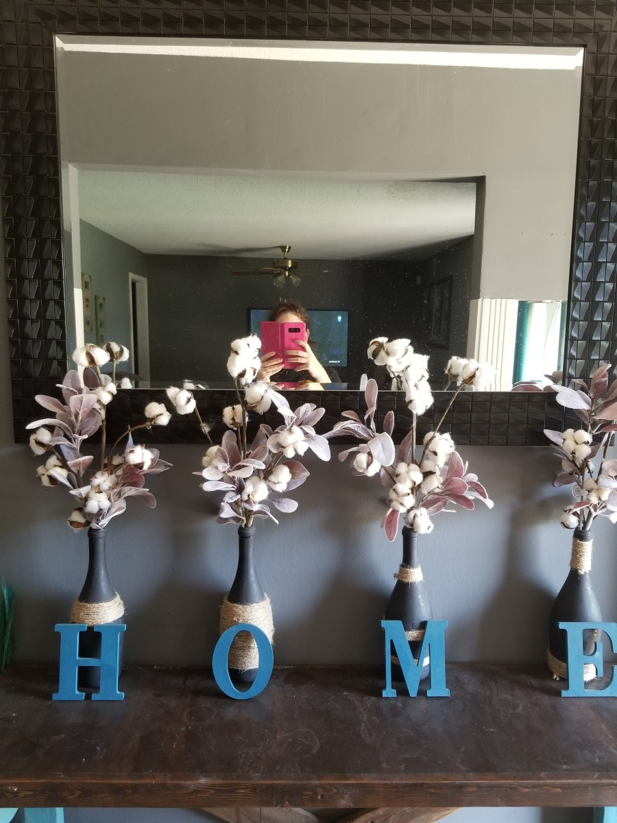 You can make you own beautiful home décor fixtures from old wine bottles, and this article will show you how.