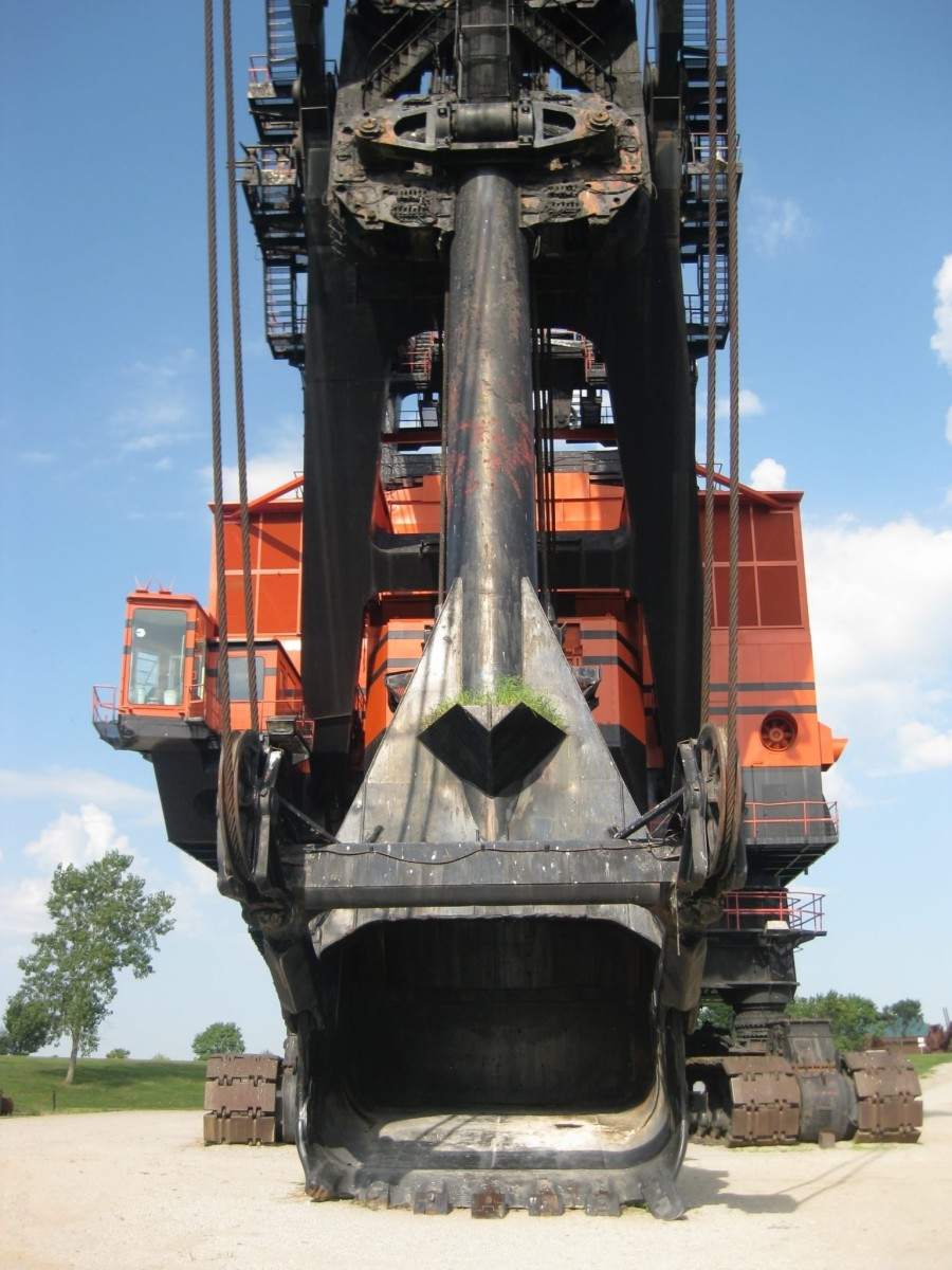 How An Electric Shovel Made Coal Mining Easier in Kansas