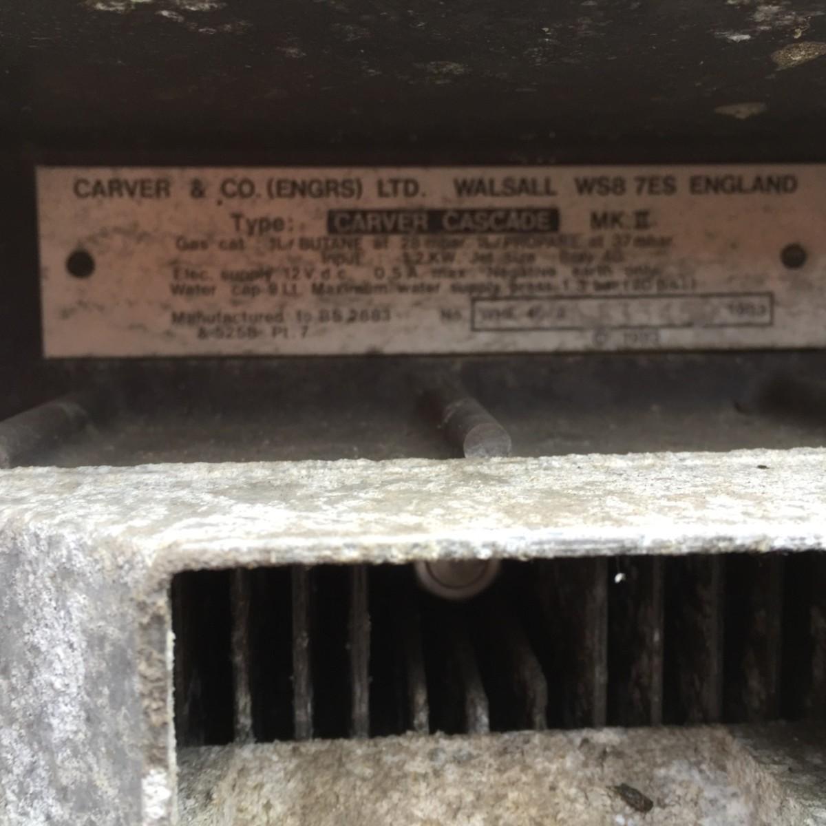 The Carver Cascade tech plate