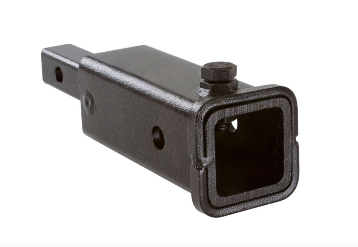 This is a simple class II to class III adapter, but this should only be used for racks and accessories