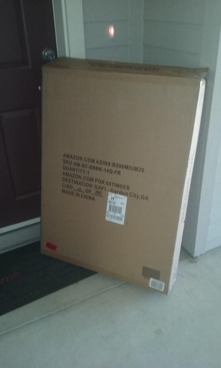Delivered to my front door